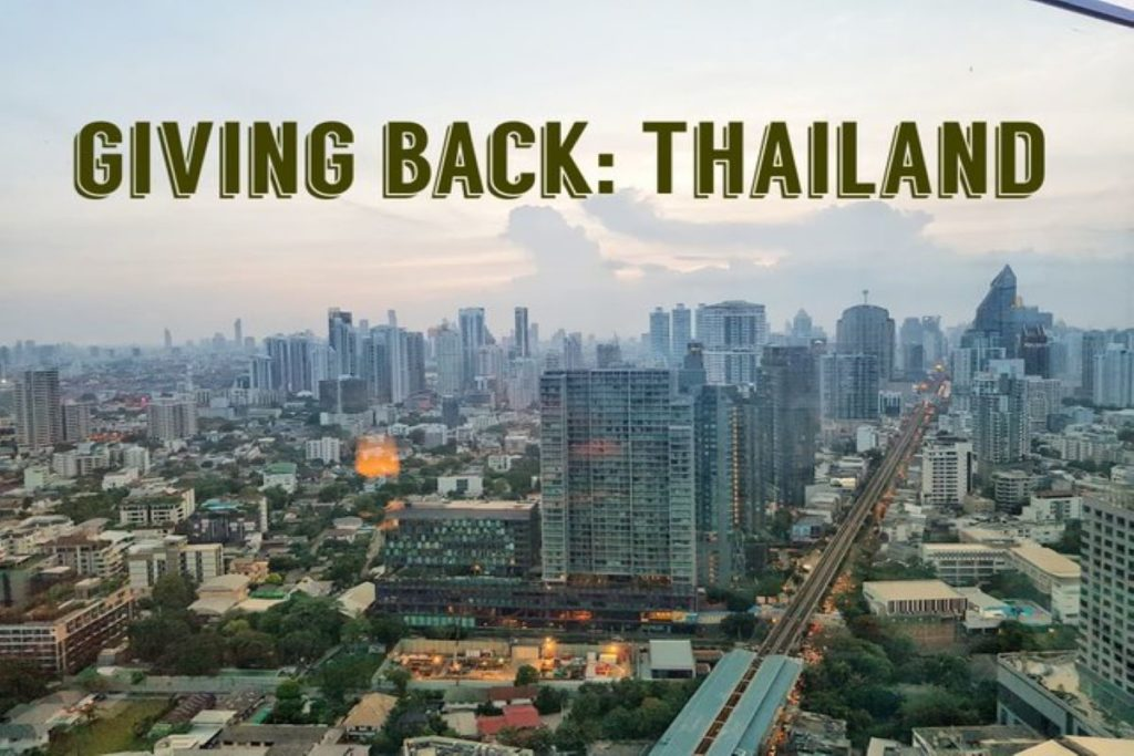 Giving Back: Thailand – Four Worthwhile Causes to Support