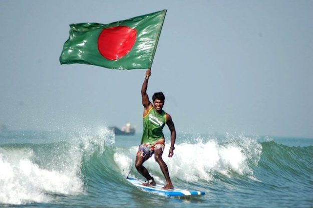 Cox's Bazar Surf Report and the Father of Surfing in Bangladesh