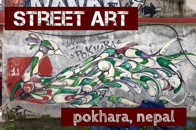 Exploring Street Art in Pokhara, Nepal